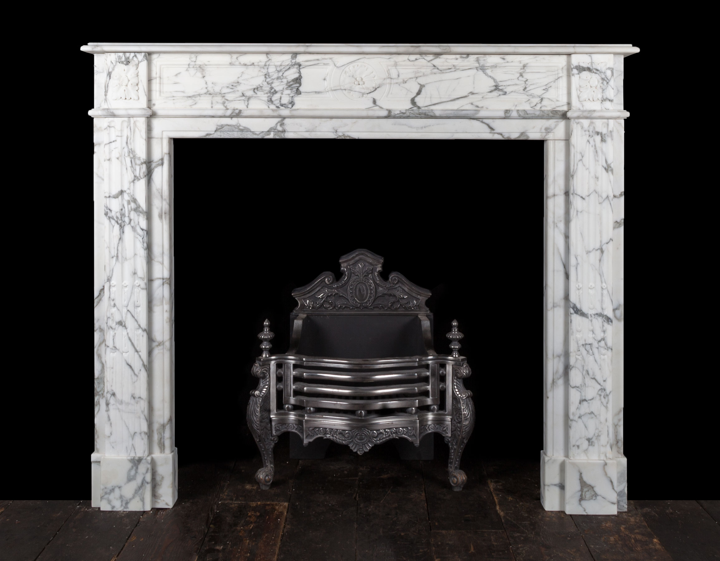 French Marble fireplace – 19267
