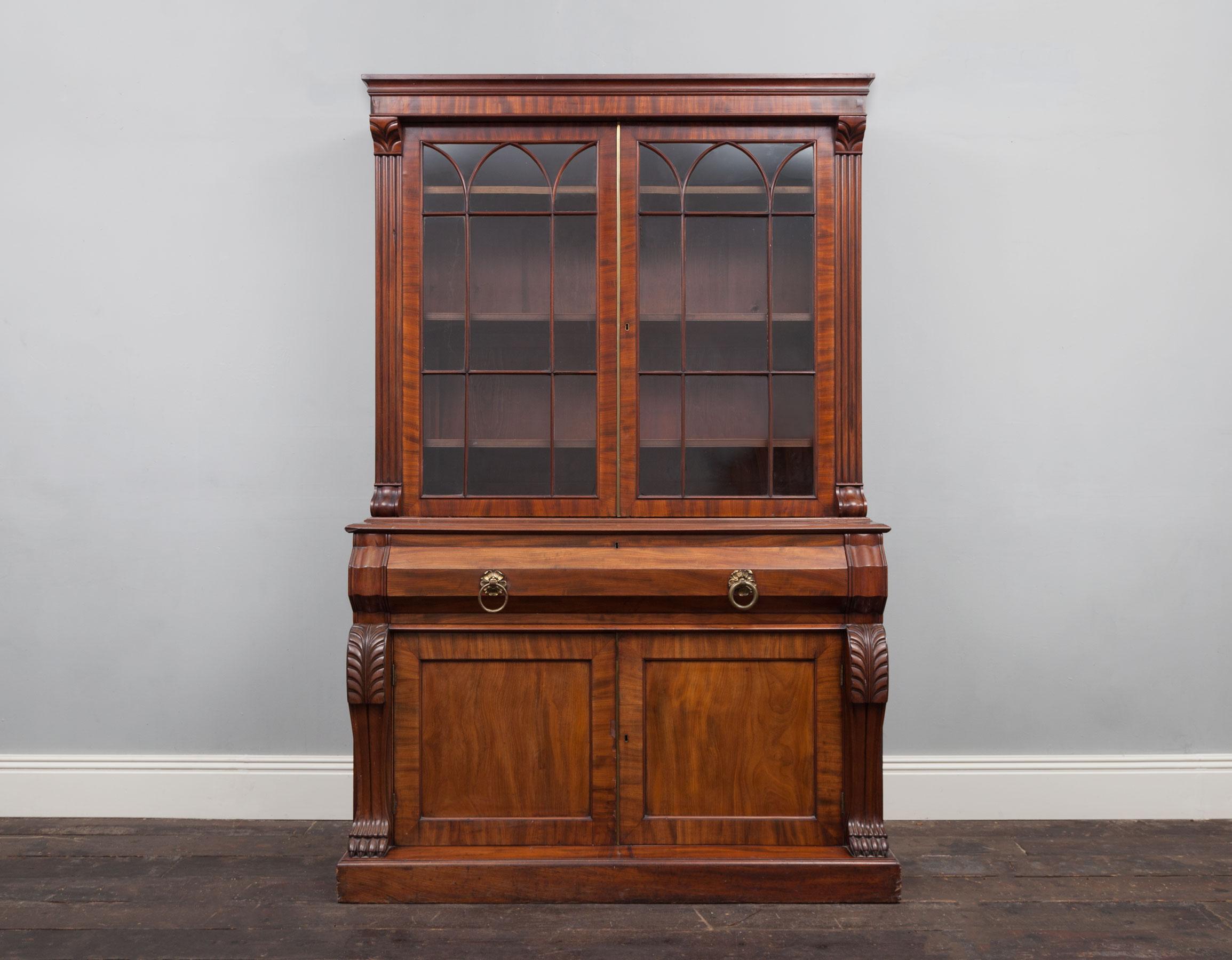 Antique Bookcase – AF063