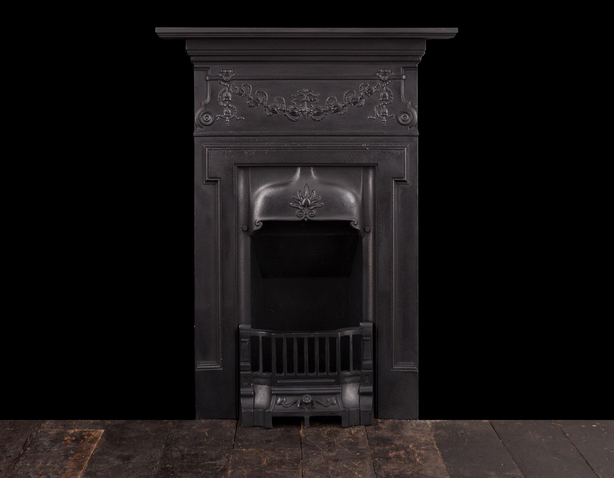 Cast iron fireplace – Ci179