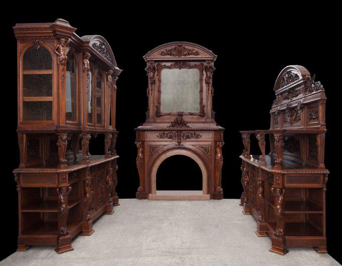 Renaissance dining room suite