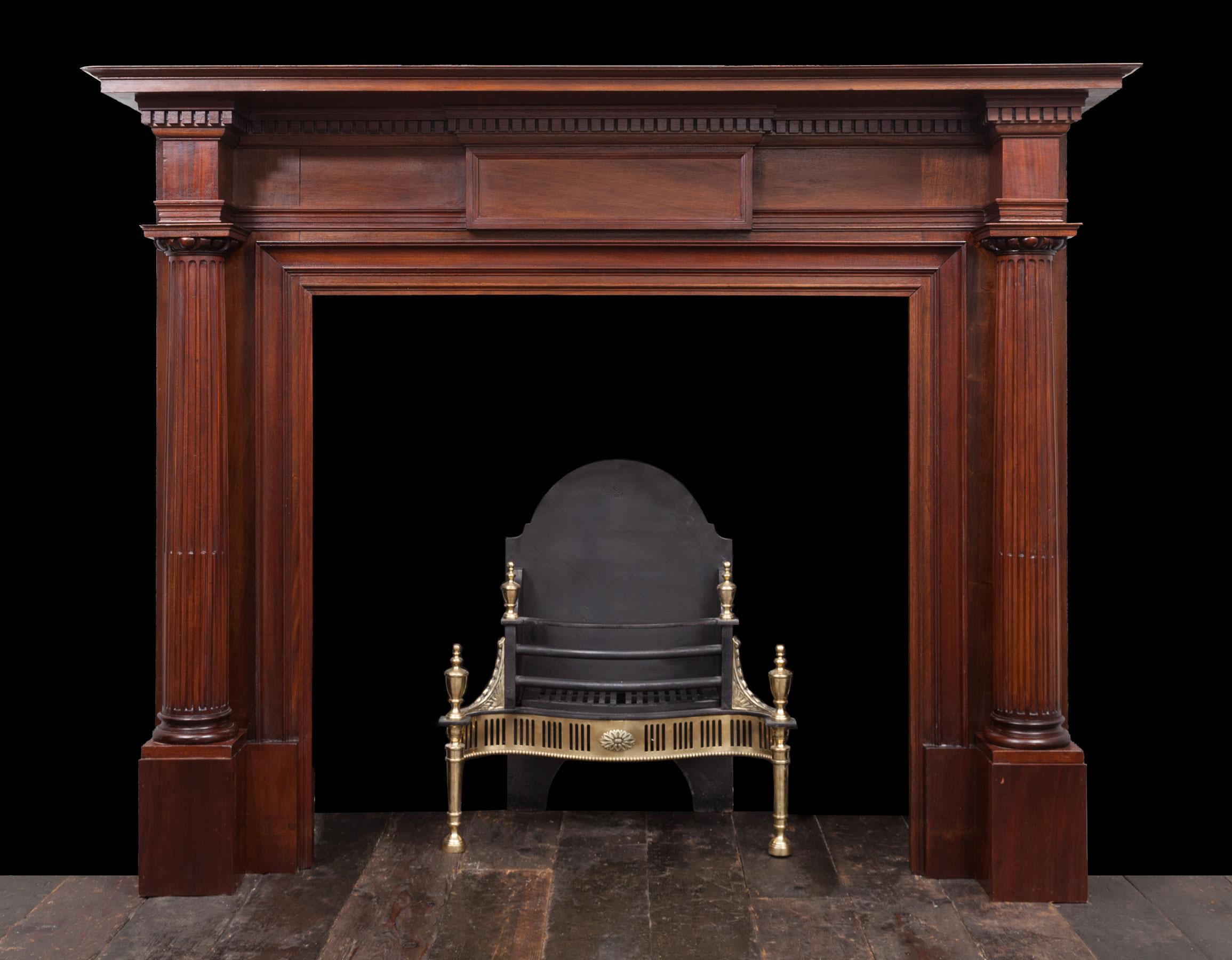 Wooden Mantel – W114