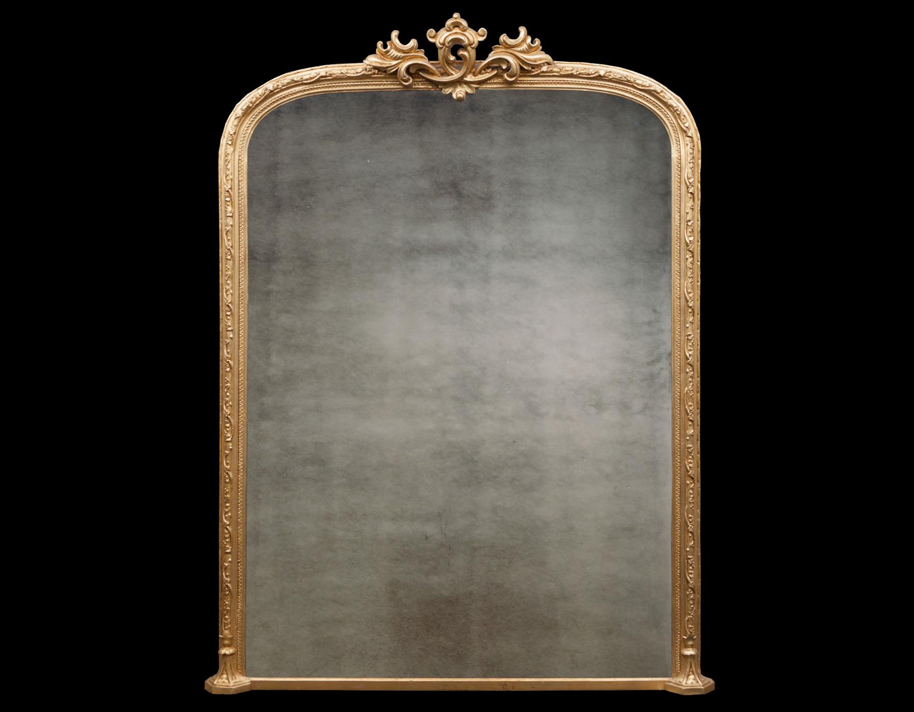 Over mantel Mirror – AF075
