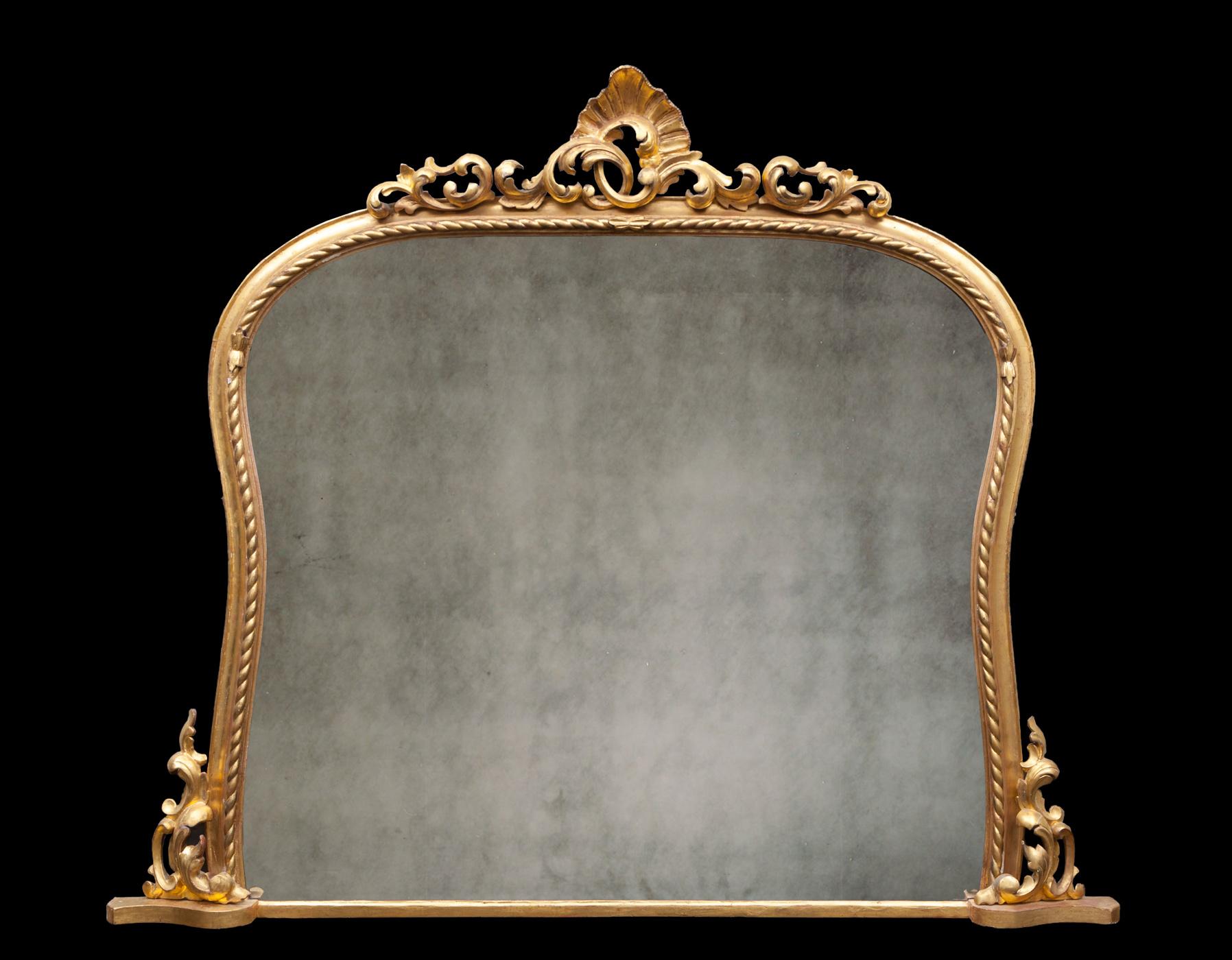 Over mantel Mirror – AF076