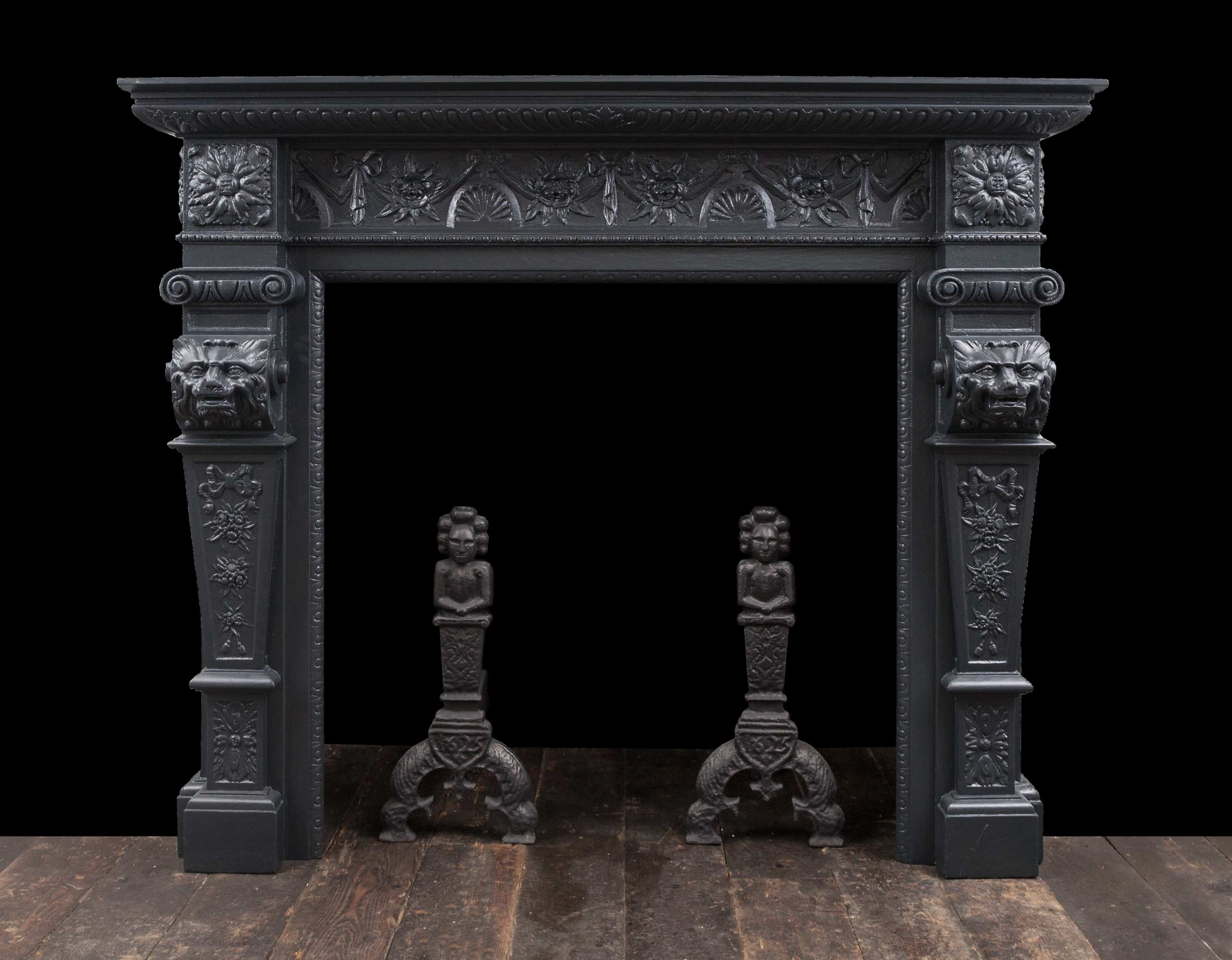 Wooden Fireplace – W124