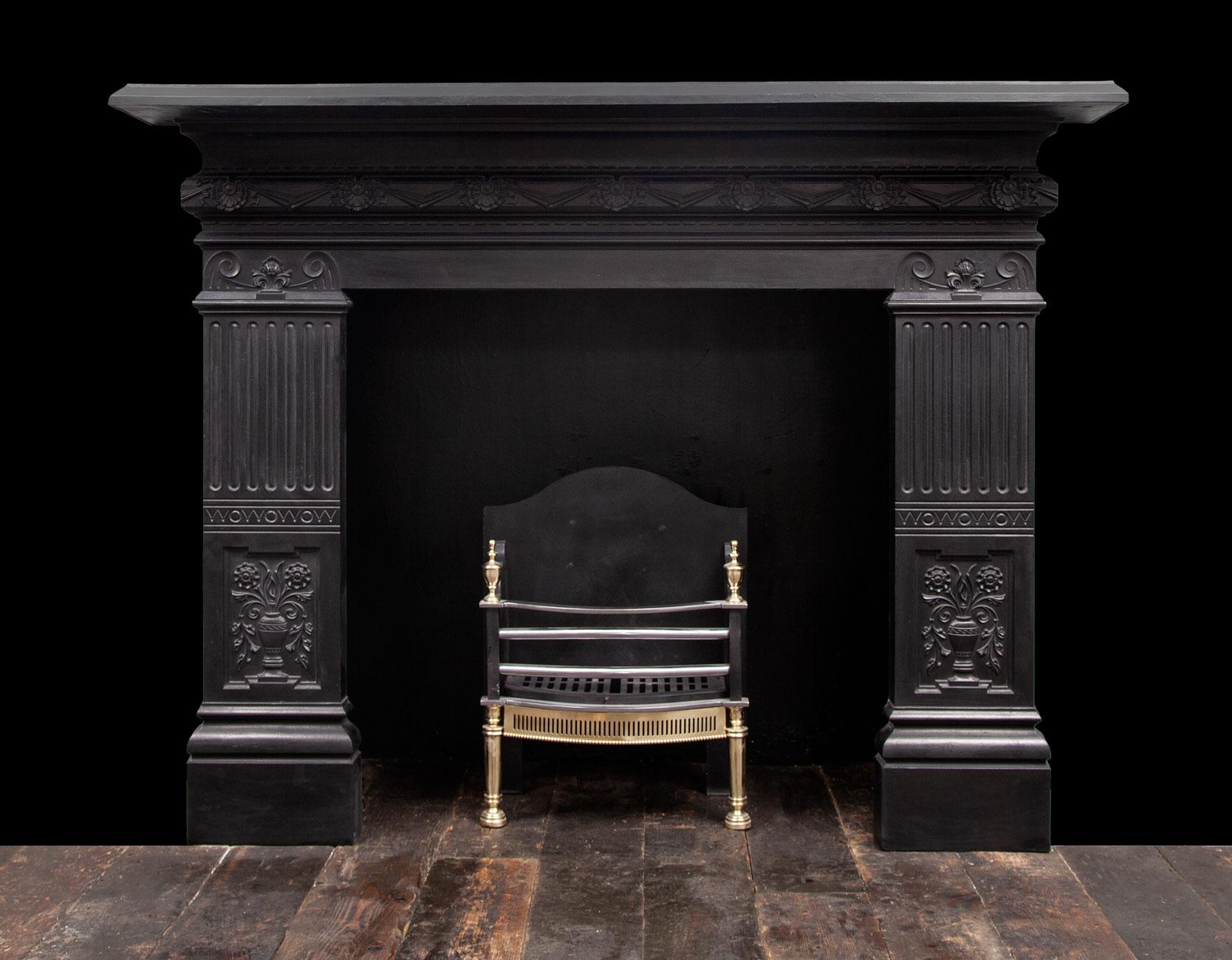 Cast-iron Fireplace – Ci182