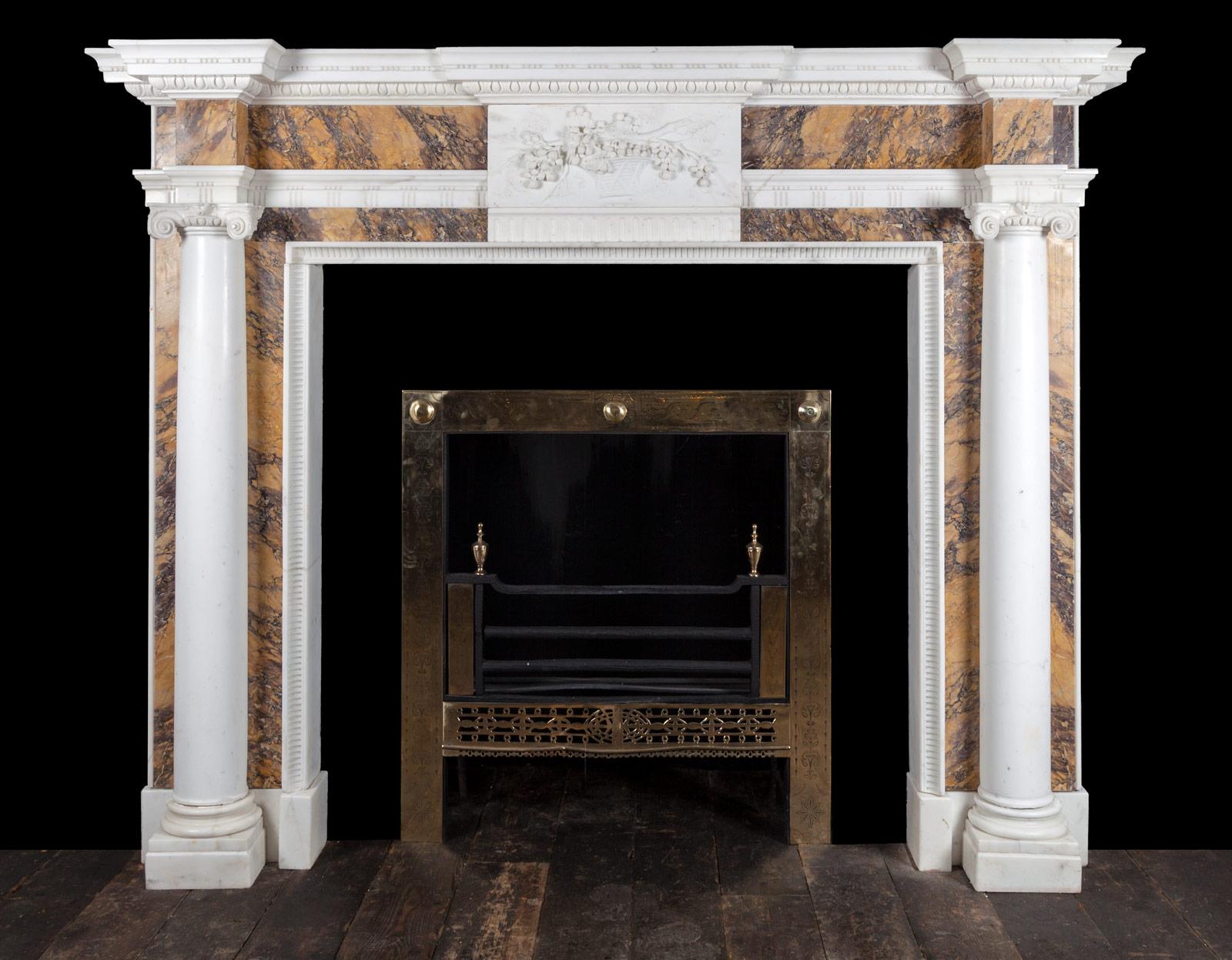 Sienna fireplace – 18163