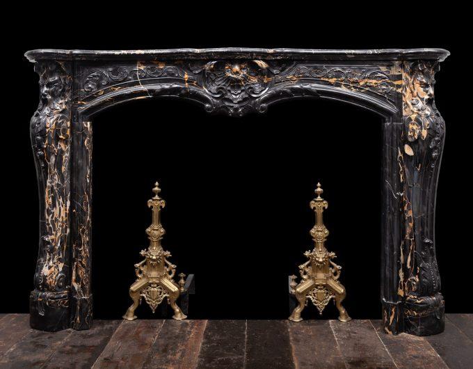 French Portoro Fireplace