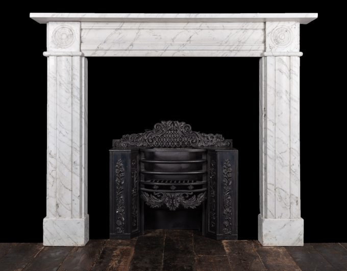 regency bulls-eye fireplace