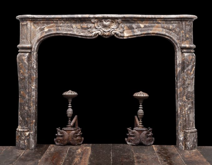 Antique French mantel