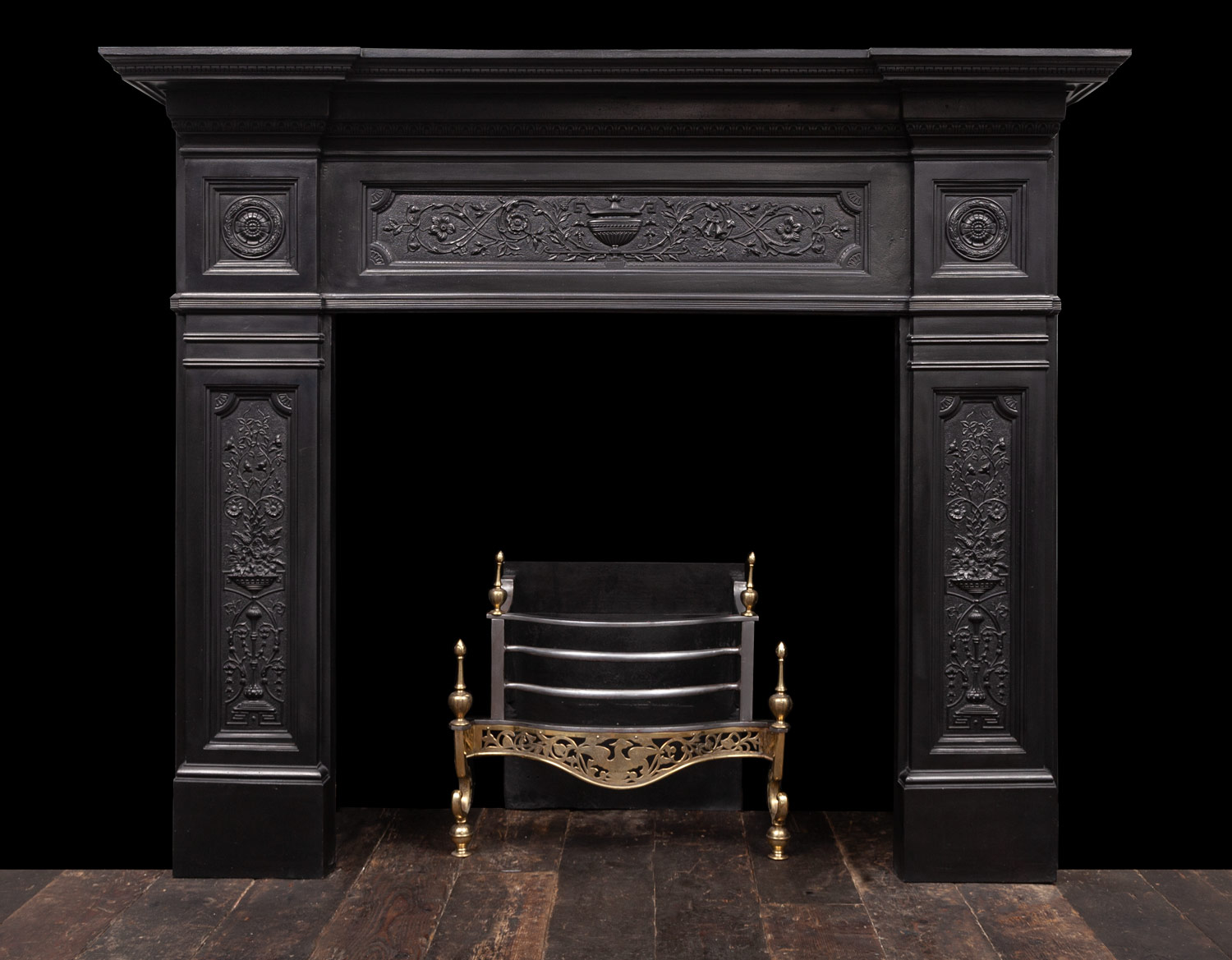Cast-Iron Fireplace – Ci186
