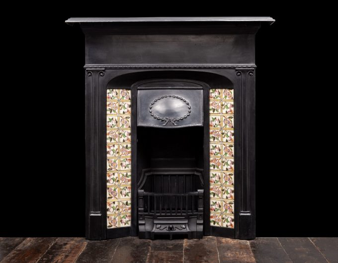 Antique cast iron fireplaces