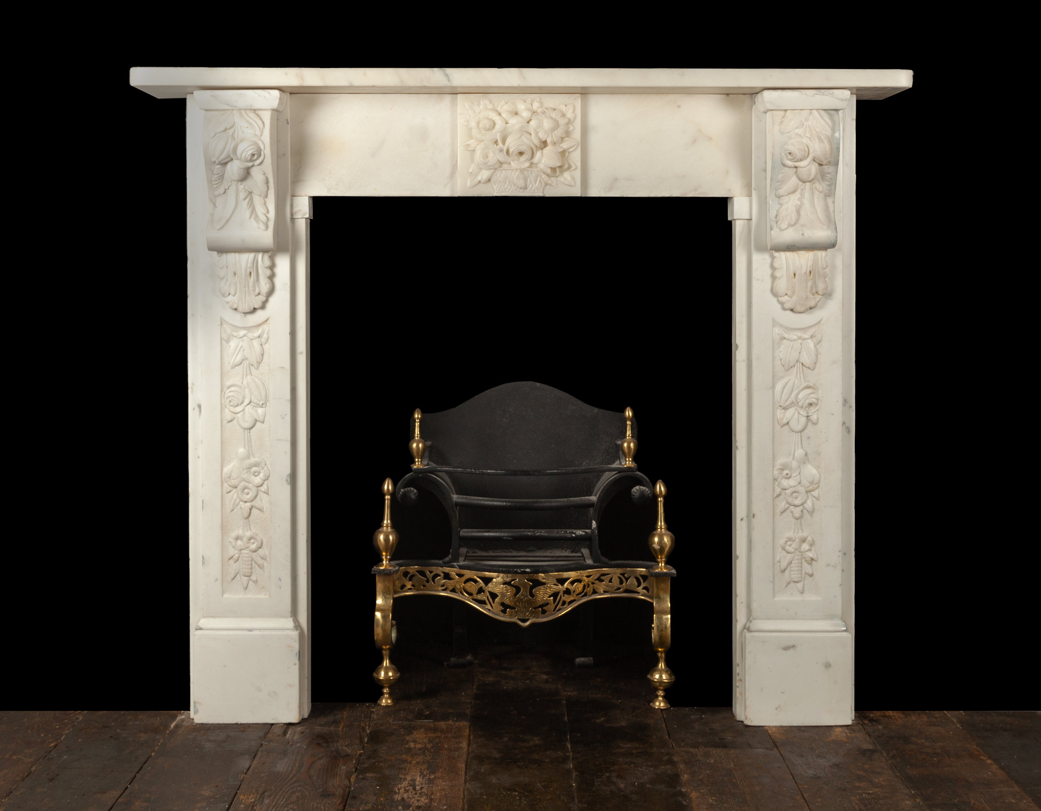 Antique Fireplace – 19352