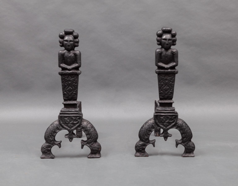 Antique Andirons – AI026