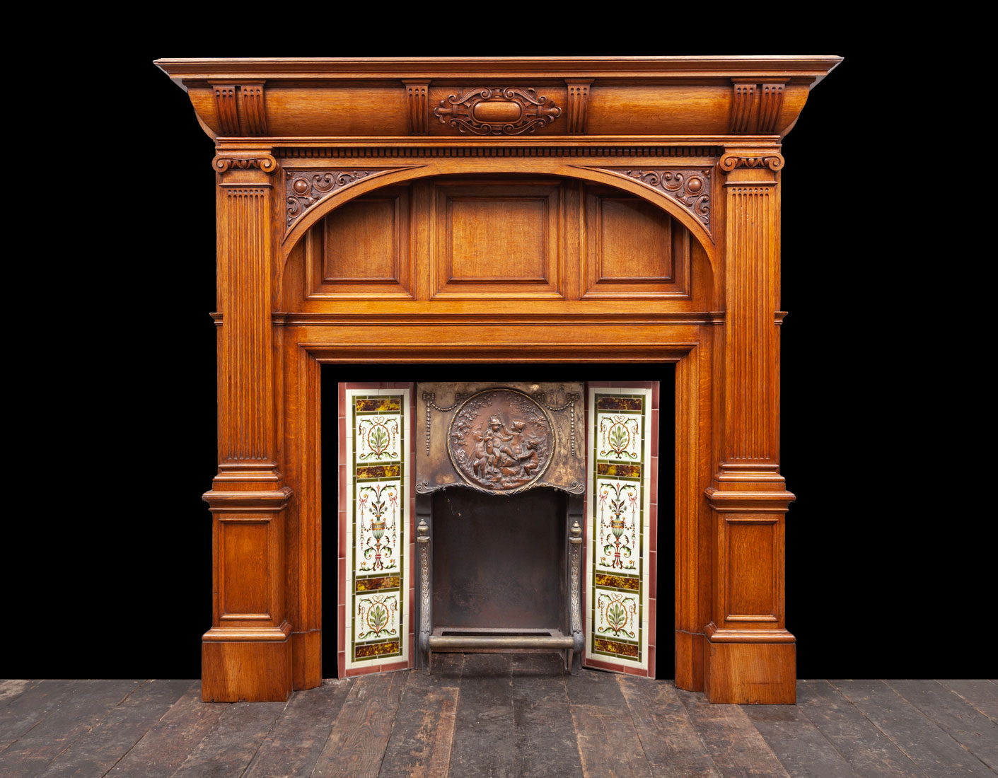 Wooden Mantel – W135