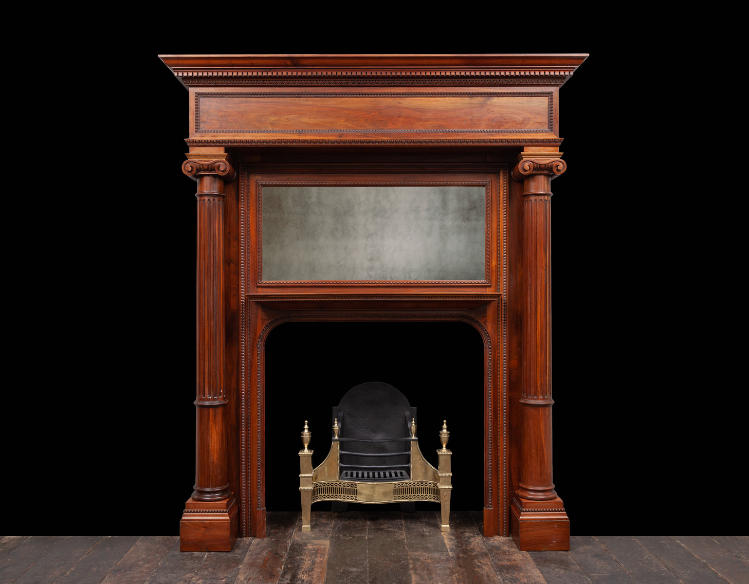 Wooden Mantel – W136