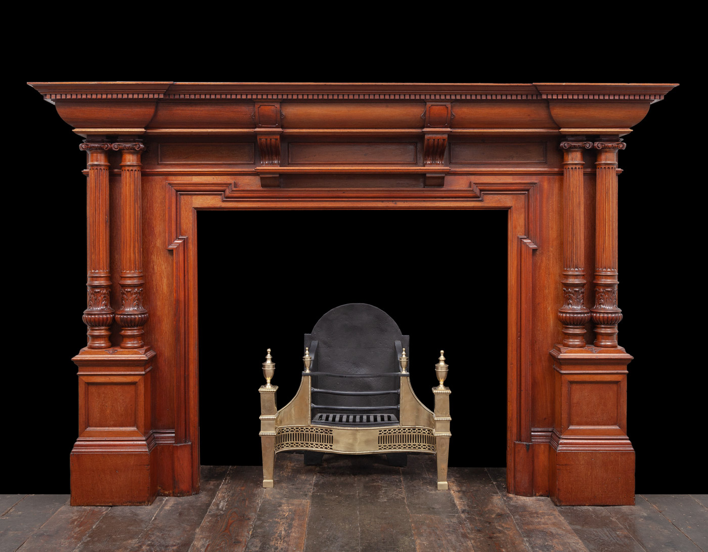 Wooden Mantel – W138