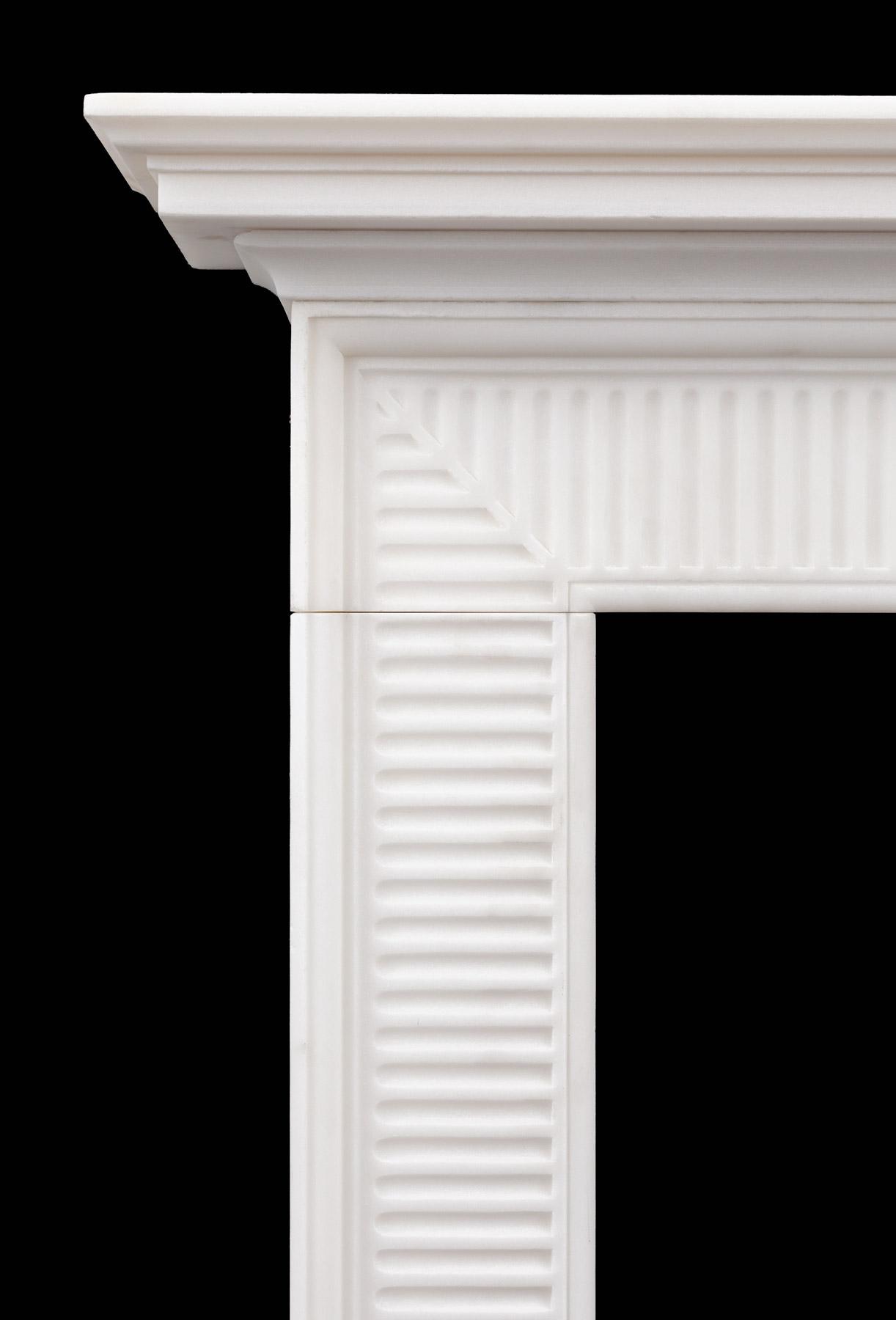 Wilton Mantel Contemporary Georgian Neoclassical