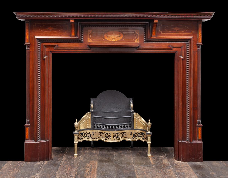 Wooded Mantel – W139