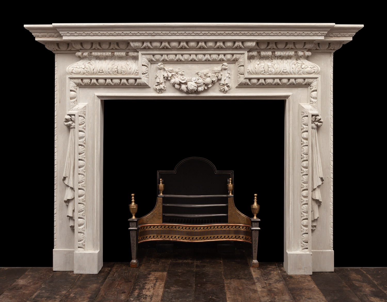 Wooden Mantel – W140