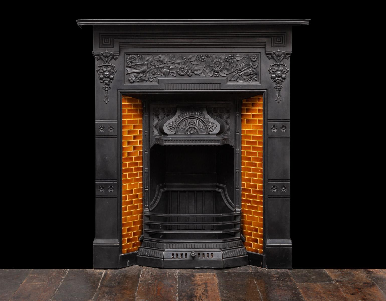 Cast-Iron Fireplace – Ci203