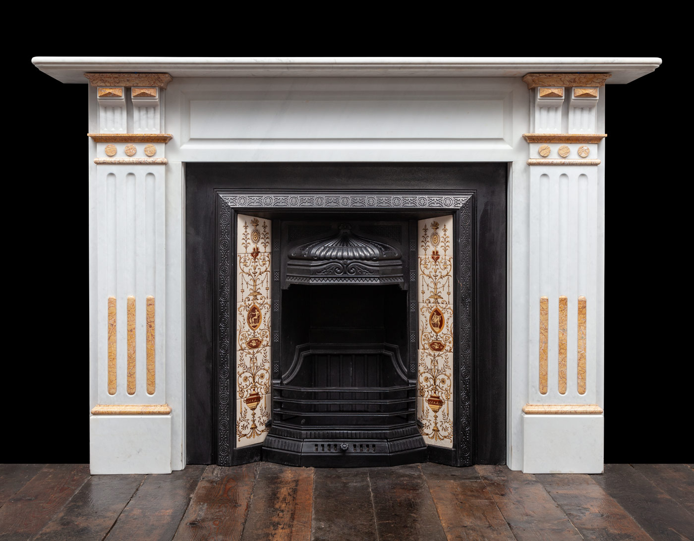 Marble Fireplace – 19401