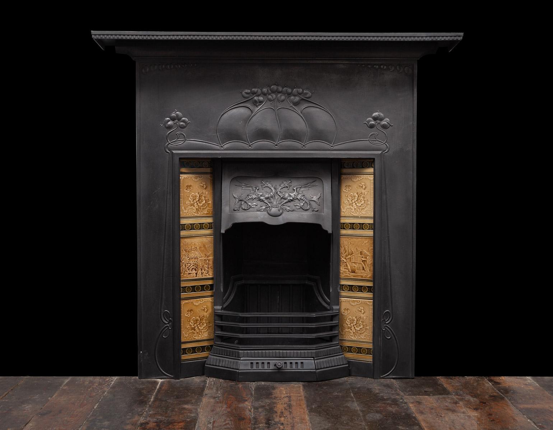 Cast-iron Fireplace – Ci208
