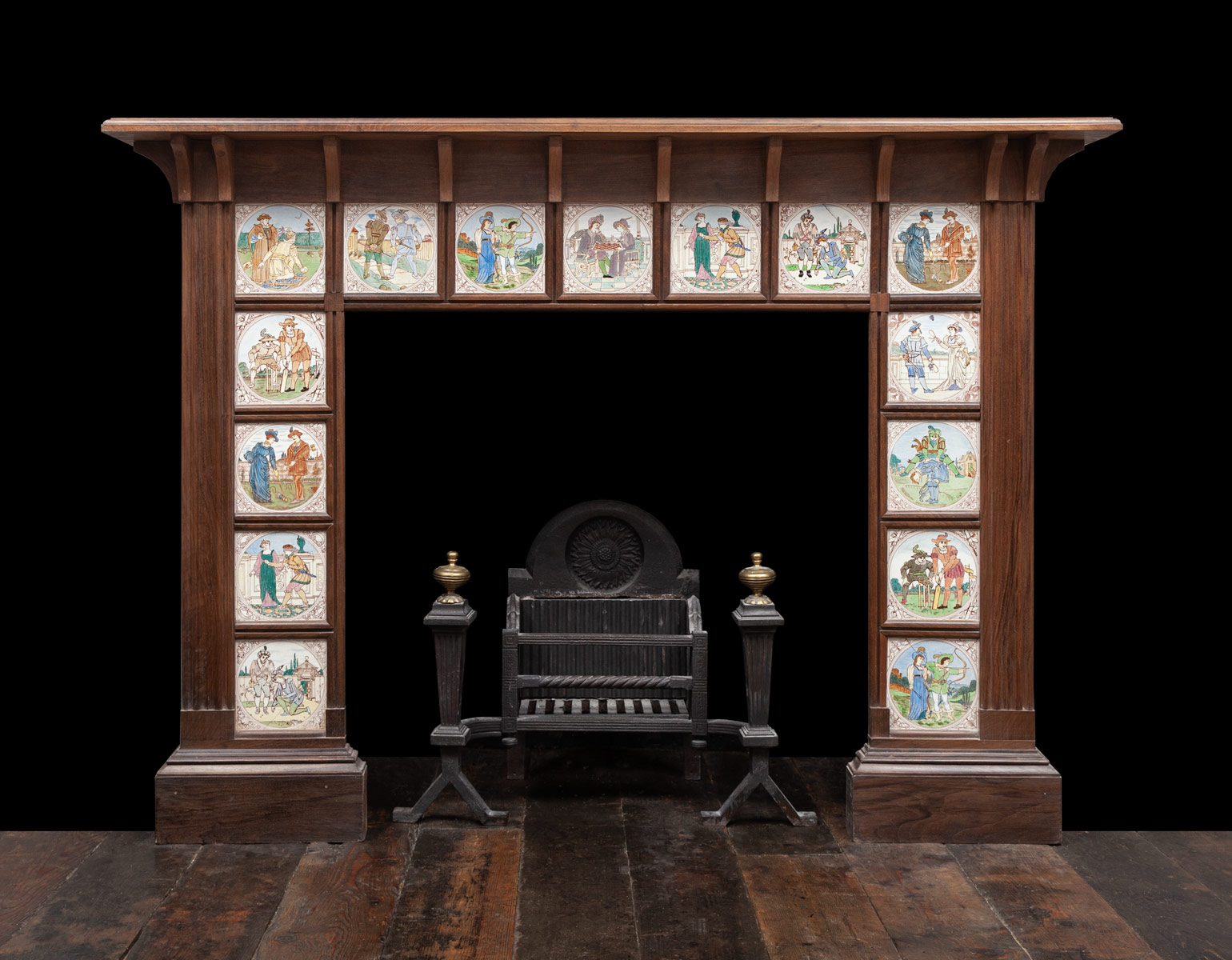Wooden Mantel – W141