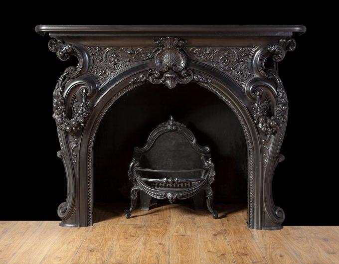 Cast Iron Fireplaces Antique