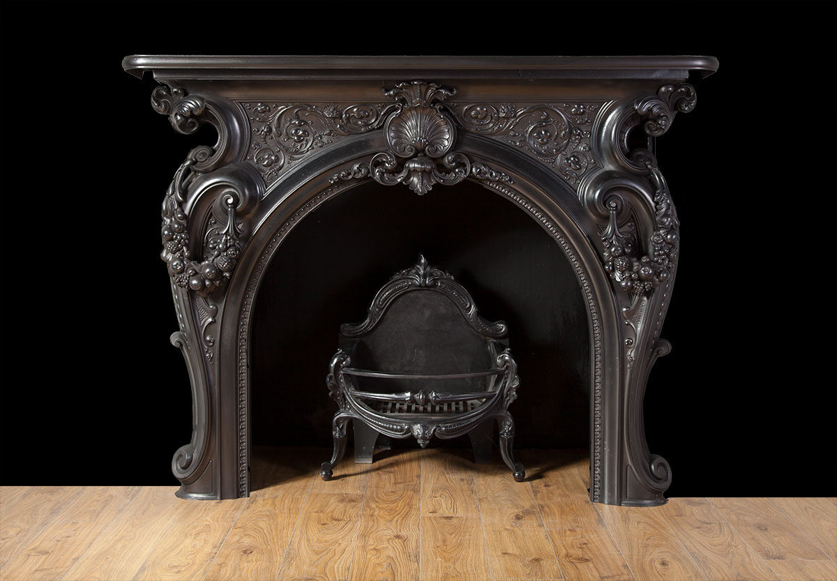 Antique Fireplace Ci162