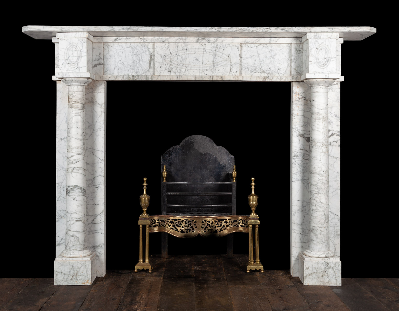 Carrara Fireplace – 19431
