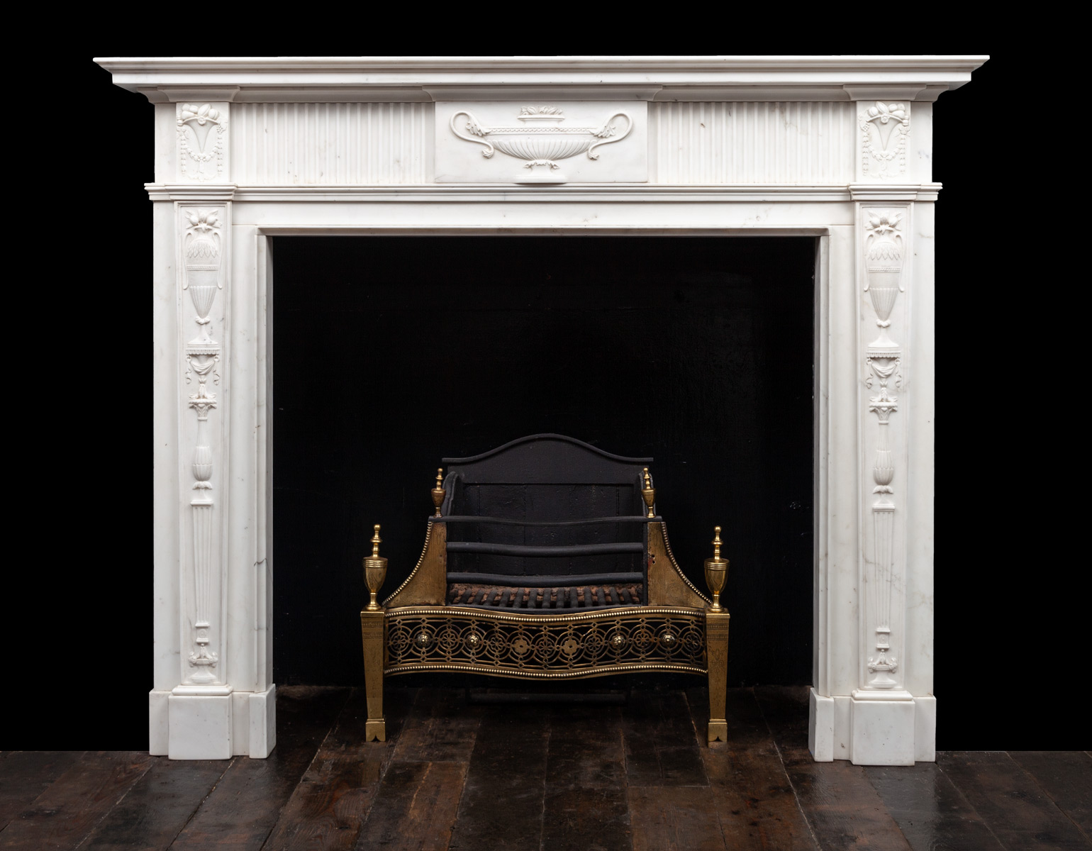 Pair of Fireplaces – 18188