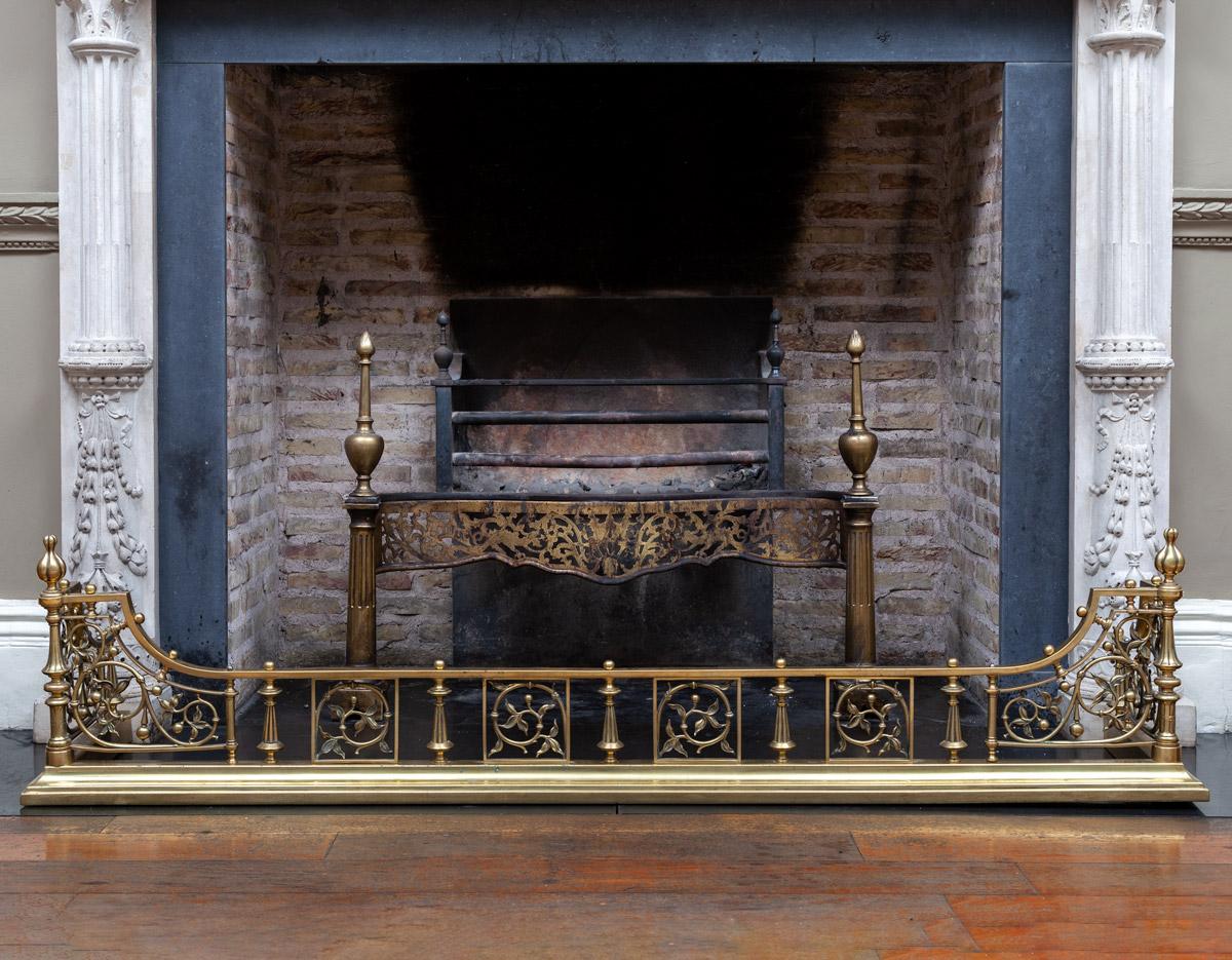 Fireplace Fender – F074