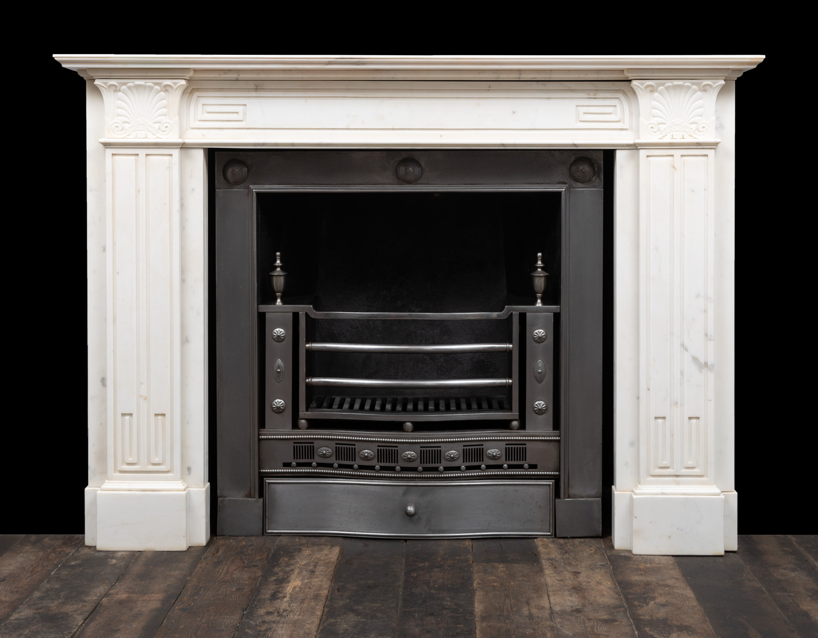 Marble fireplace – 19466