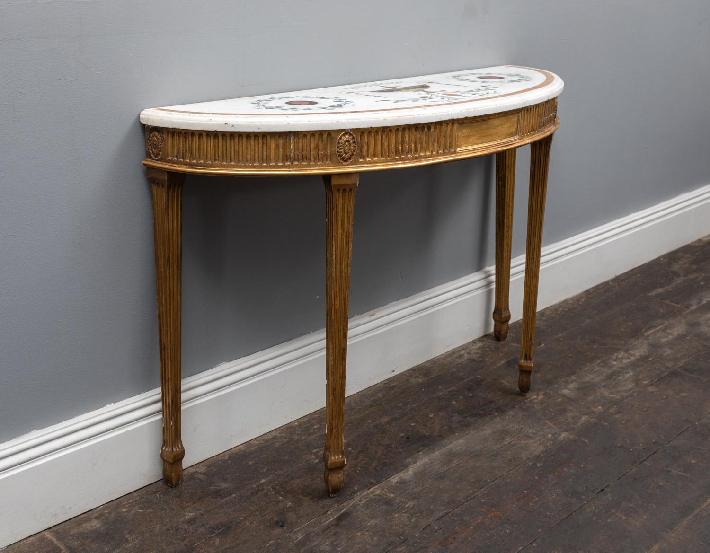 Inlaid Gilt-wood Table – AF150